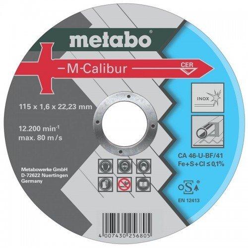 DISCO DE CERAMICA 115X1.6X22.23MM CA 46-U-BF/41 M-CALIBUR