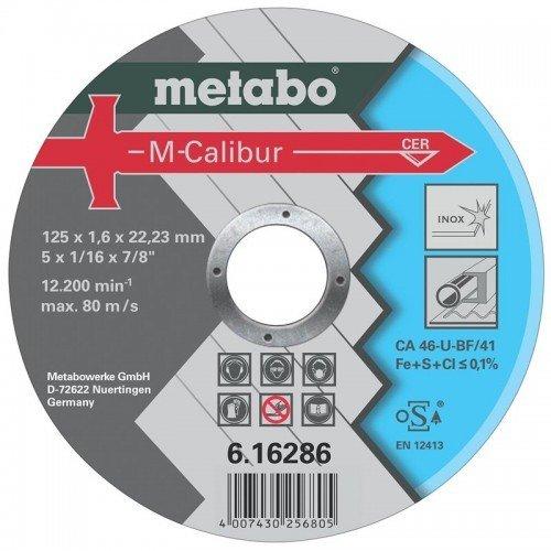 DISCO DE CERAMICA 125X1.6X22.23MM CA 46-U-BF/41 M-CALIBUR