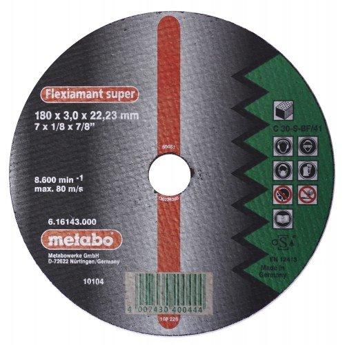 DISCO DE CORTE P/PIEDRA RECTO C 30-S-BF/41 180X3.0X22.2MM FLEXIAMANT SUPER